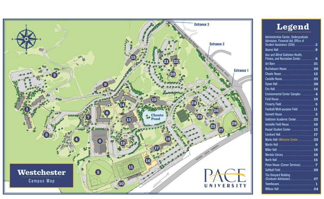 Pace University Pleasantville Campus Map.National Council Meeting 2019 Alpha Phi Delta Fraternity